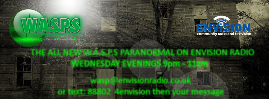 W.A.S.P.S Paranormal on Envision Radio